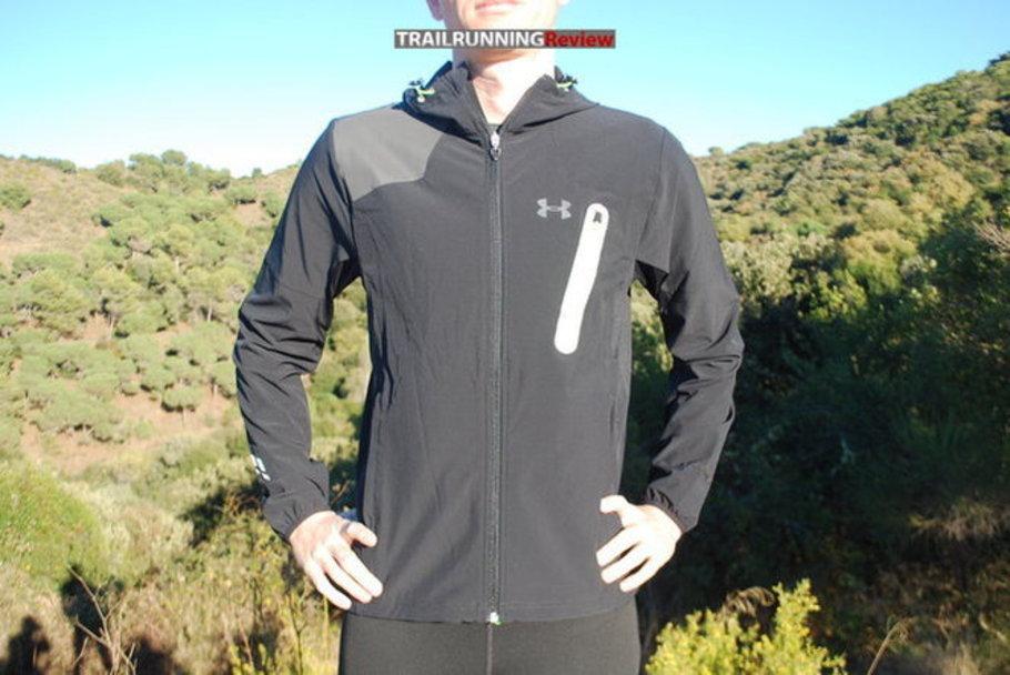 detalles para original de costura caliente mejor lugar para Under Armour Stealth Run Storm Jacket - TRAILRUNNINGReview.com