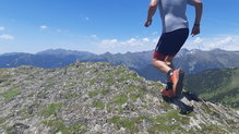 X-Bionic Effektor 4.0 Run Shorts:  X-Bionic Effektor 4.0 Run Shorts, con viento en la cima.
