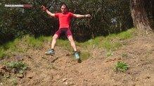 X-Bionic Effektor Power Pants: X-Bionic Effektor Power Pants saltando