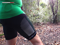 X-Bionic TWYCE Running Pants: X-Bionic TWYCE Evo Pant: reflectantes por todo el lateral