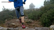 X-Bionic The Trick Running Pants 3/4: Muy buen fit para Trail Running