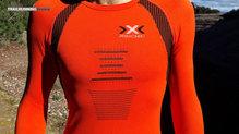 X-Bionic The Trick Running Shirt LS: Fit totalmente ajustado al cuerpo