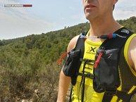 X-Bionic The Trick Running Shirt Singlet: La anchura de hombros permite el uso de mochilas sin problemas