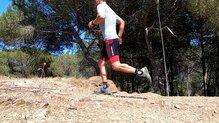 X-Socks Run Speed One: X-Bionic Run Speed One, ni el pie se mueve dentro del calzado.