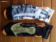 X-Socks Run Speed Two: Diferencias en diseño Run Speed One y Two (dorso)