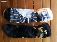 X-Socks Run Speed Two: Diferencias en diseño Run Spped One y Two (planta)