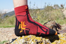 Frontal de Calcetines: X-Socks - Trail Run Energy