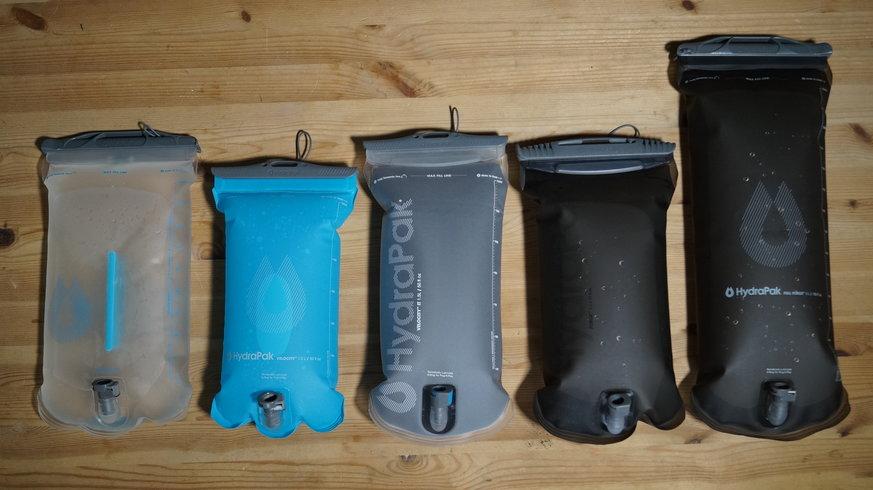 Hydrapak - Gama bolsas de hidratación 2019