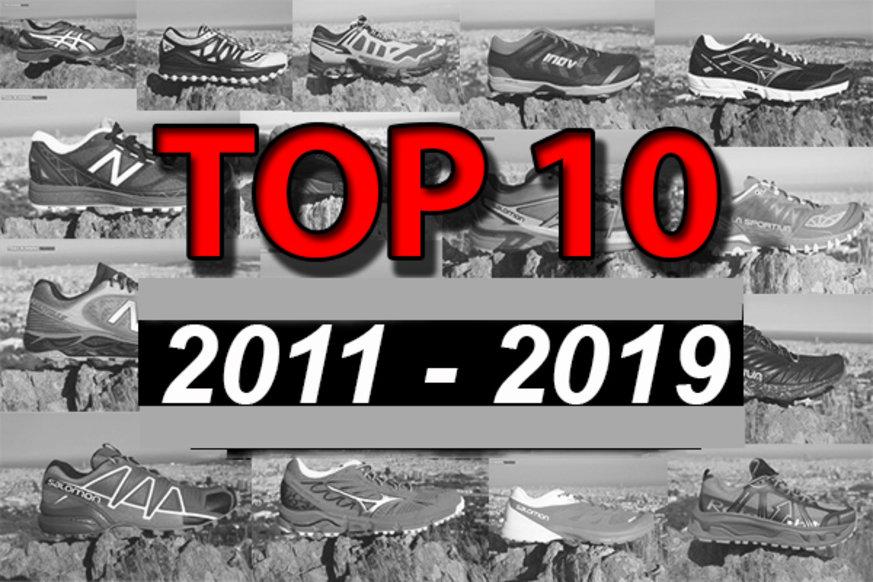 Las 10 zapatillas de trail running más visitadas de la historia de TRAILRUNNINGReview