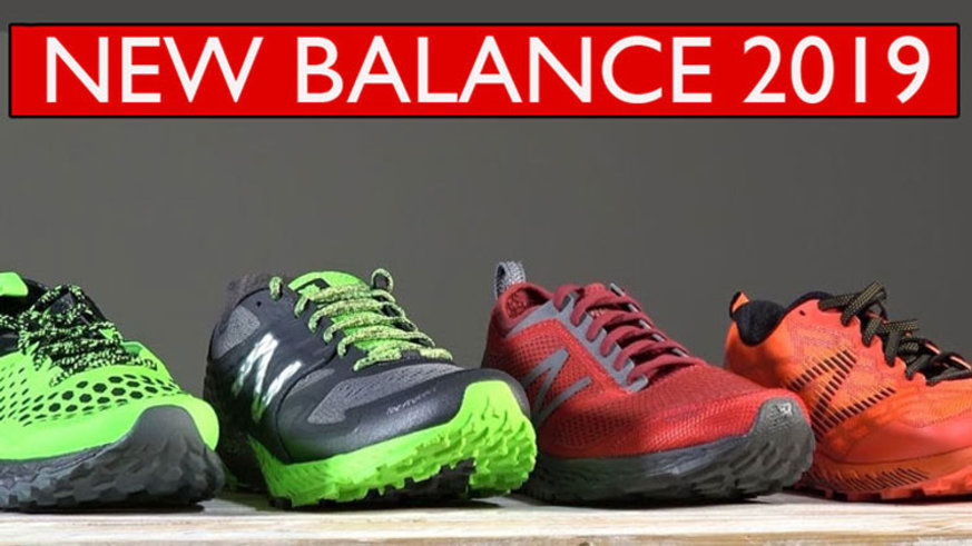 New Balance - Gama zapatillas trail running 2019 ...