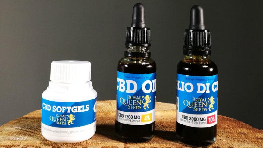 Royal Queen Seeds productos de CBD