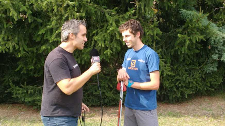 Ultra Pirineu 2016 - Entrevista a Jan Margarit